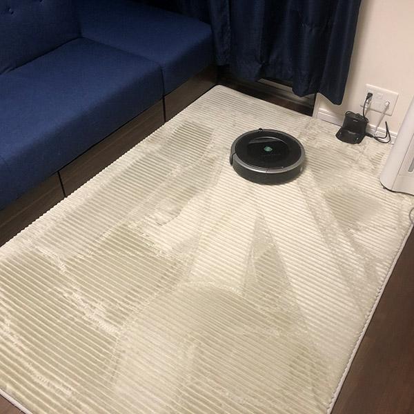 絨毯 ルンバ