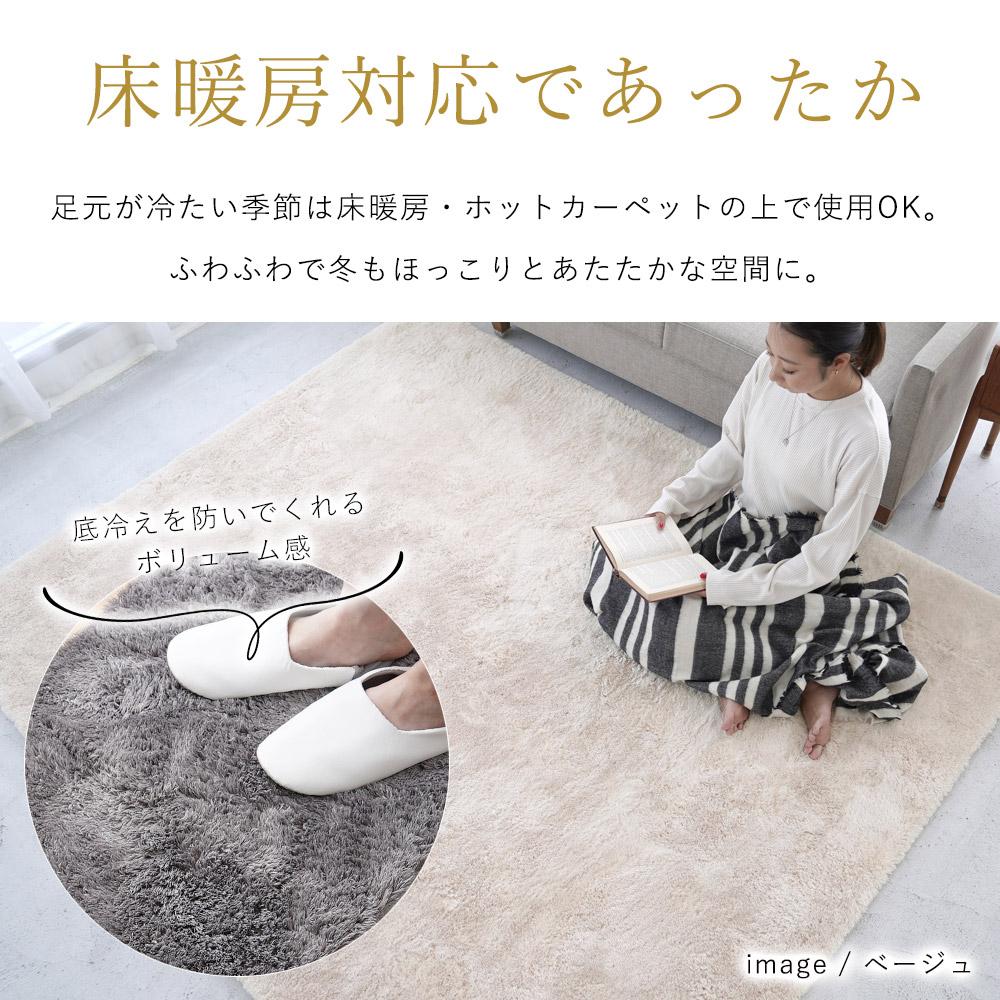 床暖房・ホットカーペット対応でポカポカ