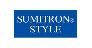 住江織物が開発したインテリア専用のポリエステルフィラメント「スミトロン(R)」を使用した製品。