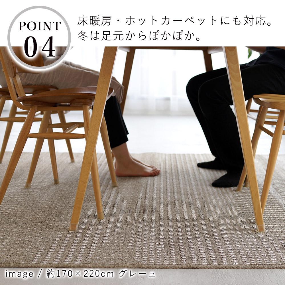 床暖房・ホットカーペットの上でご利用いただけます。